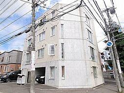 北海道札幌市白石区栄通9の賃貸マンションの外観