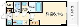 エスリード大阪シティノース[5階]の間取り