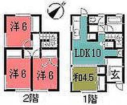 [テラスハウス] 広島県広島市安佐南区川内5丁目 の賃貸【/】の間取り