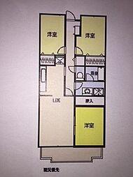 メイ大倉山II[205号室]の間取り