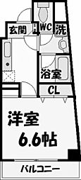 レジデンス・ラ・ヴィ[2階]の間取り