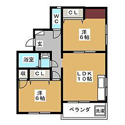CROLLA[1階]の間取り