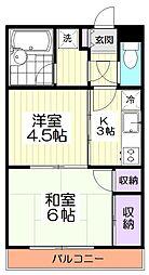 10651[2階]の間取り