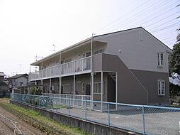 兵庫県宝塚市中筋8丁目の賃貸アパートの外観