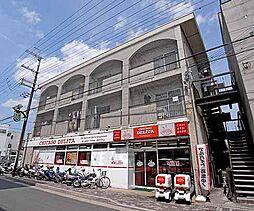 京都府京都市北区小山上初音町の賃貸マンションの外観
