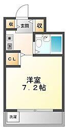ラファエラ鳴尾II[4階]の間取り