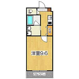 プリマード松伊[3階]の間取り