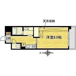 Vis-a-Vis[5階]の間取り
