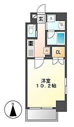 Plan Baim大須駅前[7階]の間取り