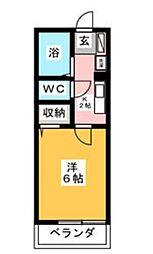 学遊館[1階]の間取り
