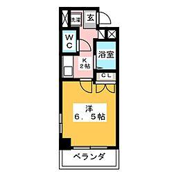 ルミナ新栄[3階]の間取り