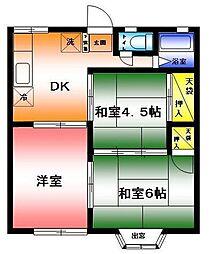 ルミエール湘南ステージ 4[1階]の間取り