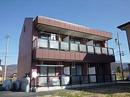 長野県諏訪市大字湖南田辺の賃貸マンションの外観