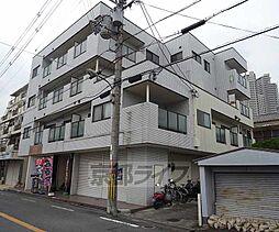 大阪府枚方市南楠葉の賃貸マンションの外観