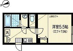 ランブラス[2階]の間取り