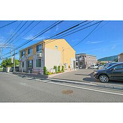 岡山県岡山市中区中井2丁目の賃貸アパートの外観