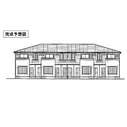 愛媛県松山市別府町の賃貸アパートの外観