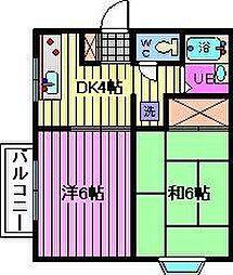 アメニティー浦和[1階]の間取り