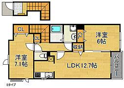 アメニティI・II[2階]の間取り
