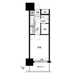 エステート・モア高宮ペール[5階]の間取り