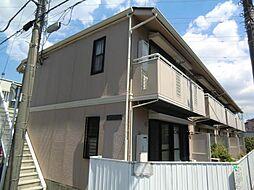 千葉県鎌ケ谷市中央2丁目の賃貸アパートの外観
