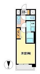 プレサンス丸の内レジデンス[3階]の間取り