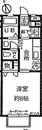 東京都杉並区西荻南3丁目の賃貸アパートの間取り