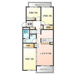 CAPITALマンション志木[2階]の間取り