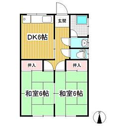 [一戸建] 長野県長野市大字小柴見 の賃貸【/】の間取り