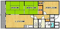 コンフォートステージ1[1階]の間取り