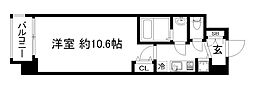 アール京都グレイス[3階]の間取り