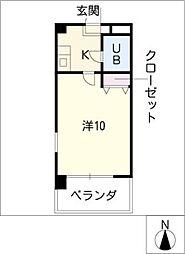 第7和興ビル[4階]の間取り