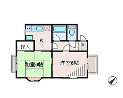 Kハイム[2階]の間取り