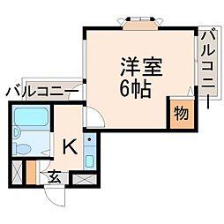 ドール甲子園口[6階]の間取り