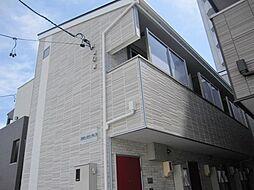 愛知県名古屋市港区新川町4丁目の賃貸アパートの外観