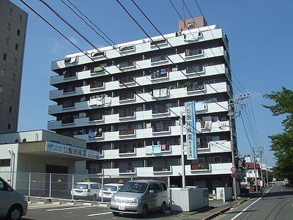 水戸ゴールデンハイツ[8階]の外観