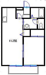 MYシャルム[2階]の間取り