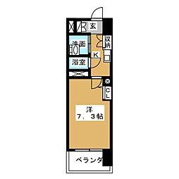 S‐FORT山王[10階]の間取り