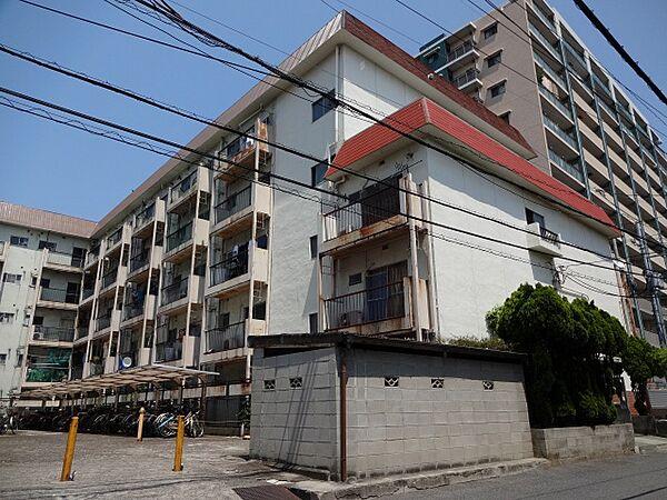 阪南ジャンボハイツ[5階]の外観