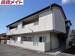 三重県亀山市みずほ台の賃貸アパートの外観