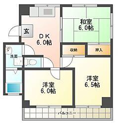 プレアール江南I[2階]の間取り