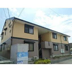 福岡県久留米市合川町の賃貸アパートの外観