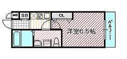 SWISS京橋[8階]の間取り