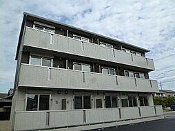 愛知県安城市昭和町の賃貸アパートの外観