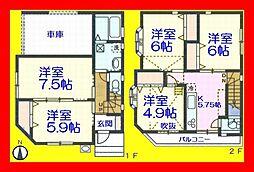 北綾瀬駅 3,698万円