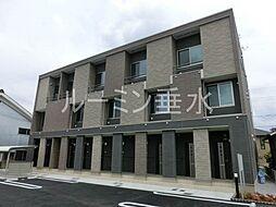 兵庫県三木市府内町の賃貸アパートの外観