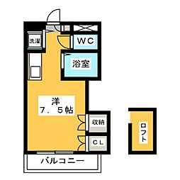 シャトー98[1階]の間取り