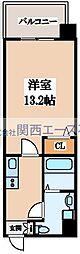 M CUBE[4階]の間取り