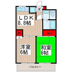 フォレスト和光[2階]の間取り