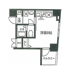 東京都豊島区上池袋2丁目の賃貸マンションの間取り
